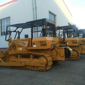 Reliable Supplier Electric Skid Steer Loader - Forestry Bulldozer T165-3 – Xuanhua  Construction