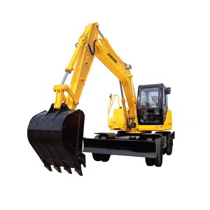 PriceList for Crawler Excavator On Sale - HBXG-HTL120-9 Wheel Excavator – Xuanhua  Construction