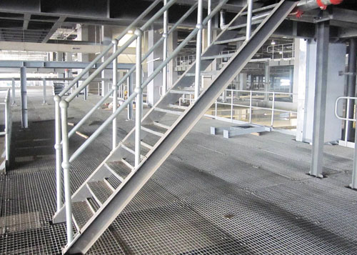 The Surface Treatment of the Steel Grating Also Satisfies Many Aspects of Functionality.