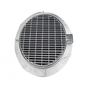 Factory Cheap The Construction Plug Steel Grating -