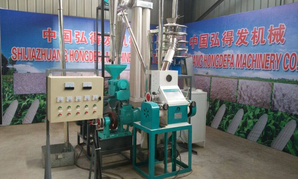 5t/24h Maize Flour Milling Machine Featured Image