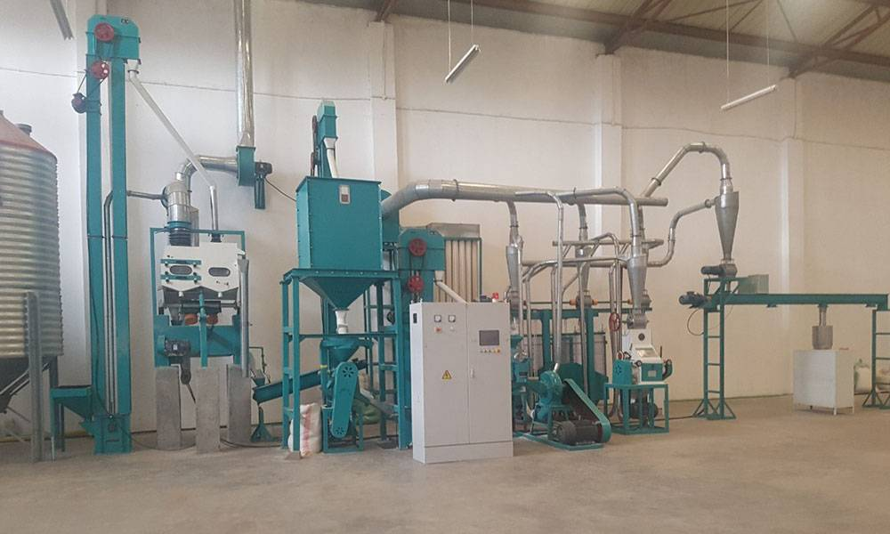 10t/24h Maize Flour Milling Machine Featured Image