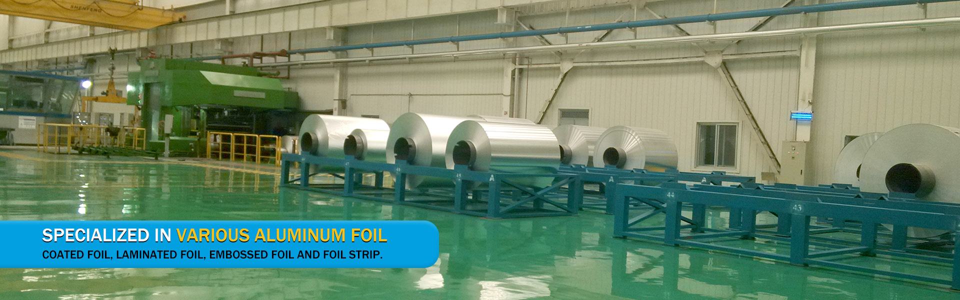 Specialized in various aluminum foil