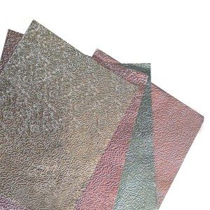 Polyester coating aluminium foil for Building Construction Multi Color