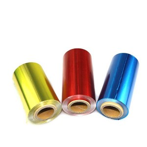 Renewable Design for Embossed Foil Roll -