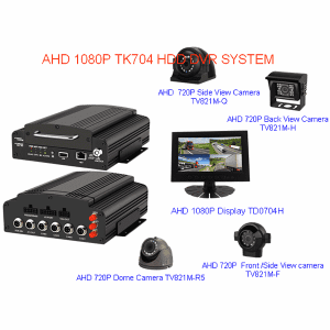 5CH HDD MOBILE DVR SYSTEM