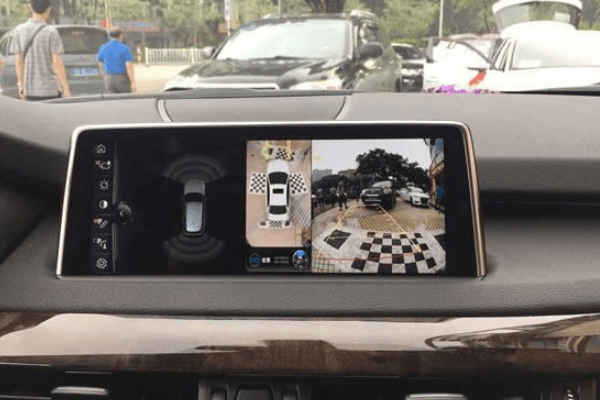 360-degree view camera system
