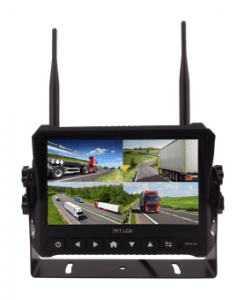 720P 7Inch 2.4GHz Digital Wireless Camera System