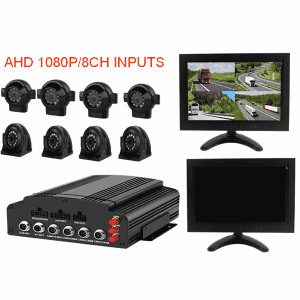 4 Channel Auto DVR süsteem