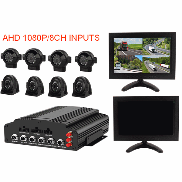 8CH HDD Mobile DVR SYSTEM Featured Image