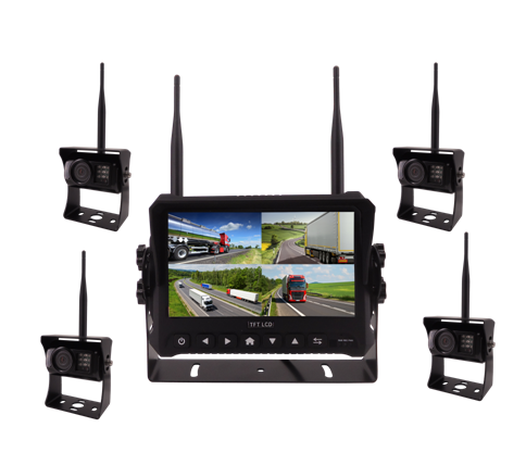 720P 7Inch 2.4GHz Digital Wireless Camera System Featured Image