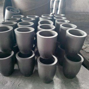 High Temperature Foundry Large Clay Graphite Kukuru Mukutonga kwechiFascist
