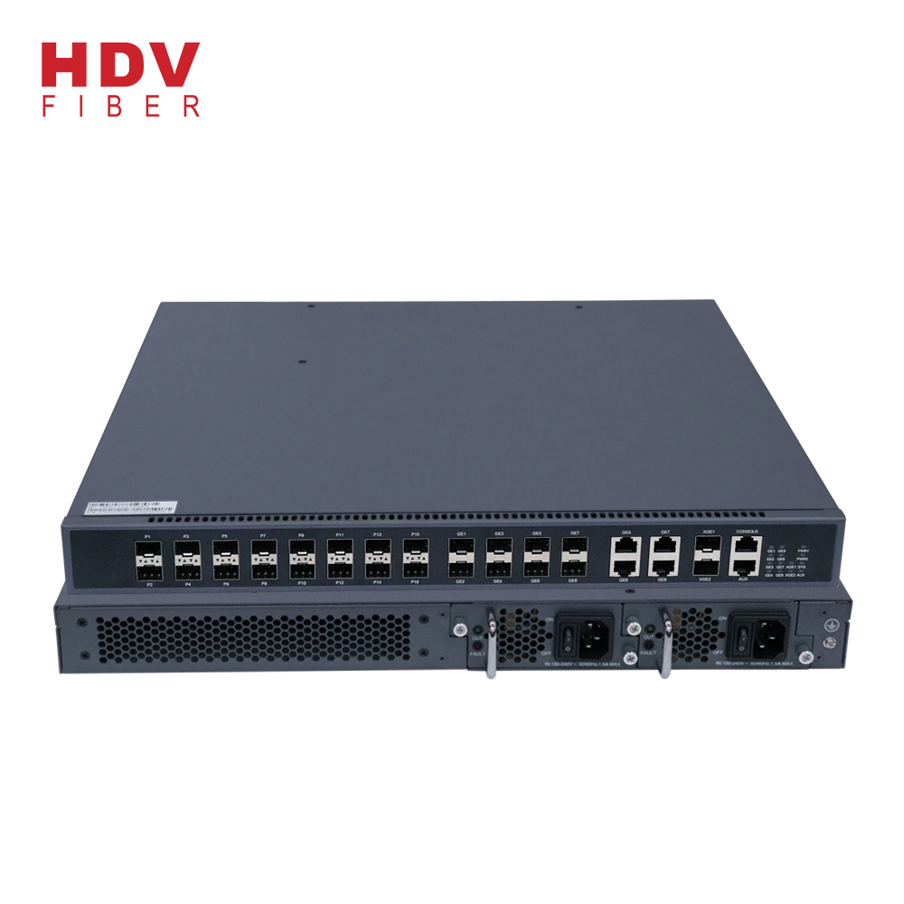 Best Sell Mini 16 Port PON EPON OLT GEPON OLT Optic Fiber Equipment Optical Line Terminal for FTTH Solution Featured Image