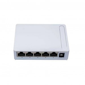 Ethernet Switch Managed - Shenzhen Factory Network Switch Gigabit 5-Port 10/100/1000Mbps Ethernet Unmanaged Switch – HDV