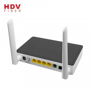 Fiber Optic Wireless 1GE+3FE+CATV+WiFi FTTH XPON EPON GPON ONU device