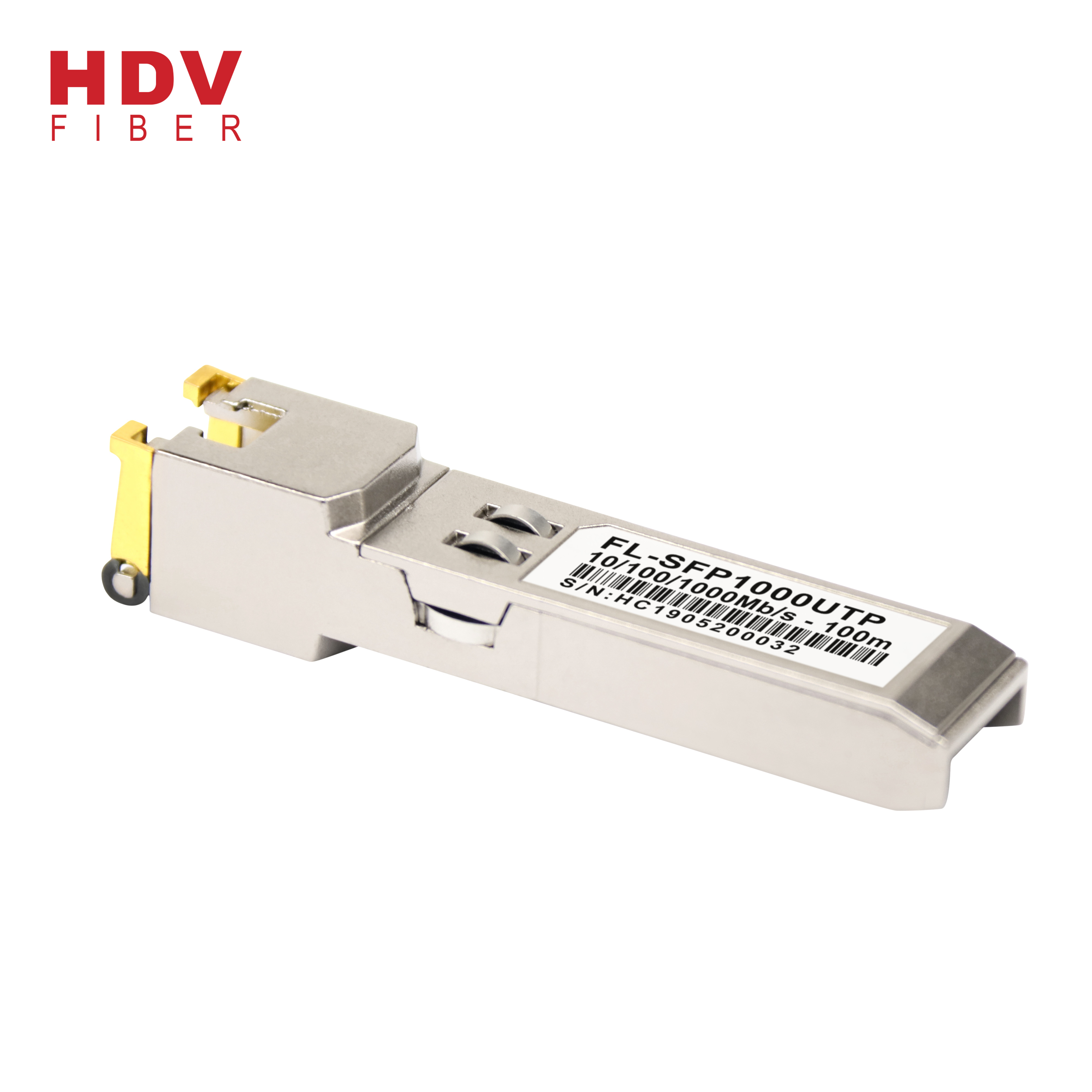 sfp module one port rj45 10/100/1000M Base-T 100m optical transceiver sfp copper Featured Image