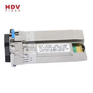 Well-designed 10g Sfp Optical Module - Singlemode 10G SFP+ BiDi Wdm 40km with DDM SFP transceiver – HDV