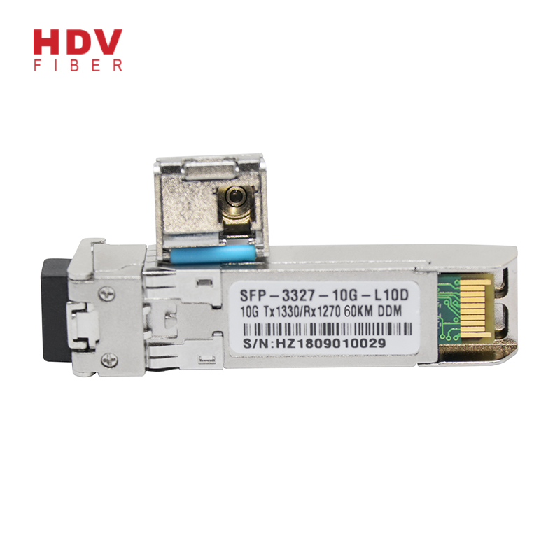 Sfp 1g Transceiver - Reliable and stable 10g sfp module 60km bidi 1270/1330nm sfp+ transceiver module – HDV Featured Image