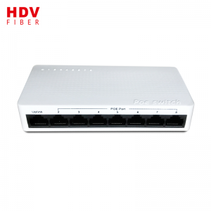 100M RPOE network switch