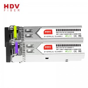 1.25g Sfp Module 80km Lc Optical Transceiver 1490/1550 Sfp Fiber Optic Transceiver Sfp Module