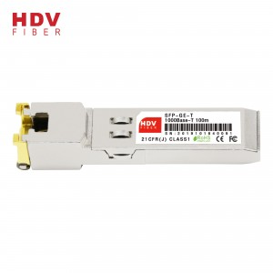Factory wholesale Compatible Sfp Modules - 1G Copper sfp module – HDV