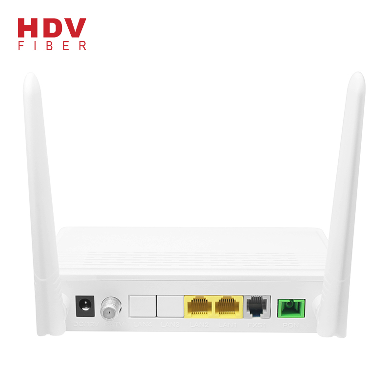 Ddm - High Quality Router Support FTTH 1GE+1FE  Wifi CATV PHONE GPON XPON ONU – HDV