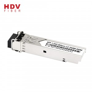 1.25g Sfp Module 850nm Multi yanayin 550m Ddm LC Interface Dual Mode Sfp Fiber Transceiver Module