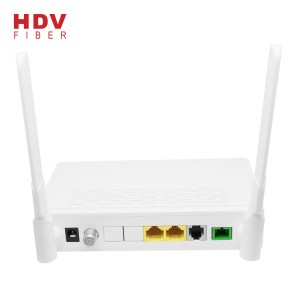 1GE 1FE CATV WIFI Gepon GPON ONT FTTH Epon ONU Compatible ZTE HUAWEI OLT