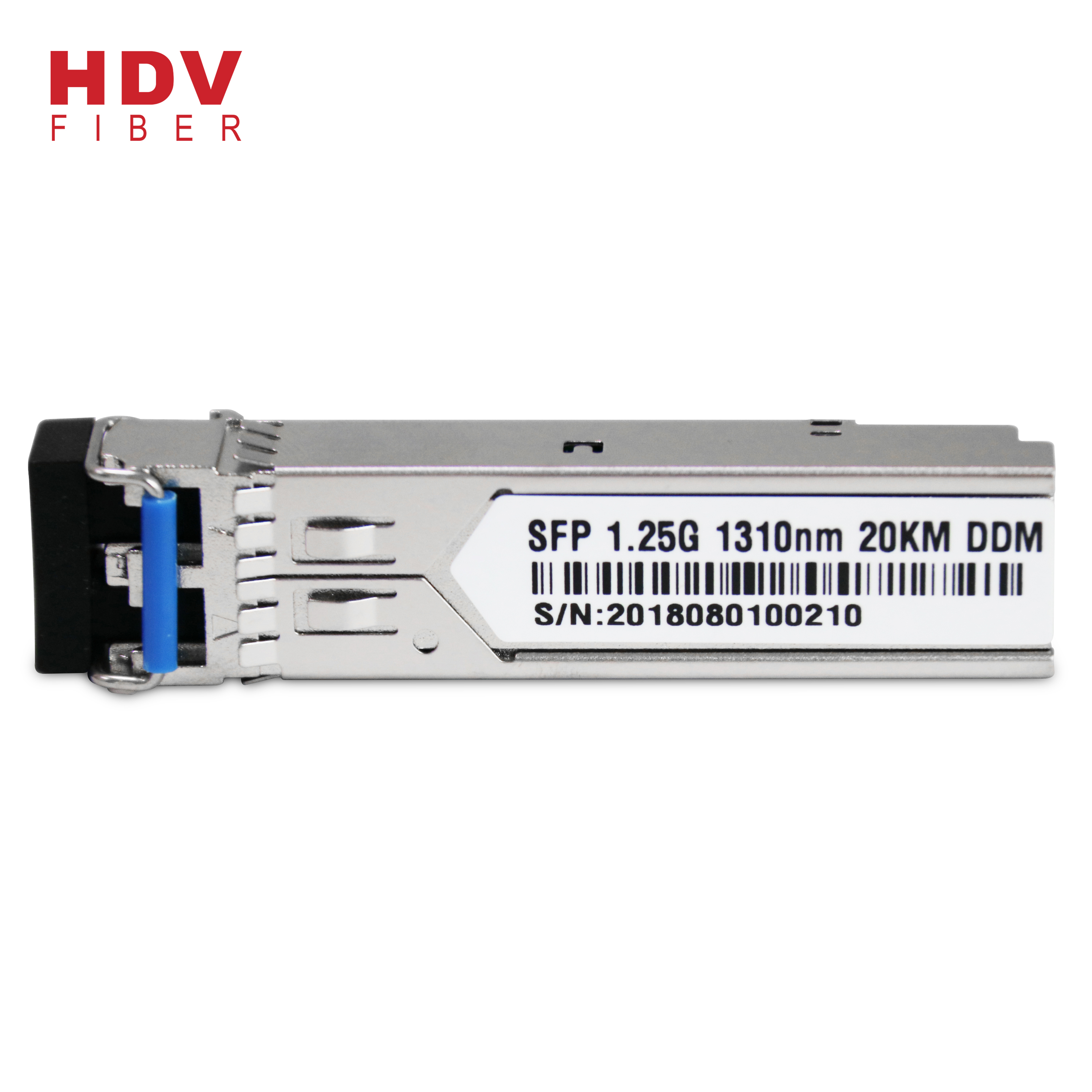 Factory Price For 40km Optic Module - 1.25G 20KM 1310nm Dual Fiber Single mode SFP module – HDV