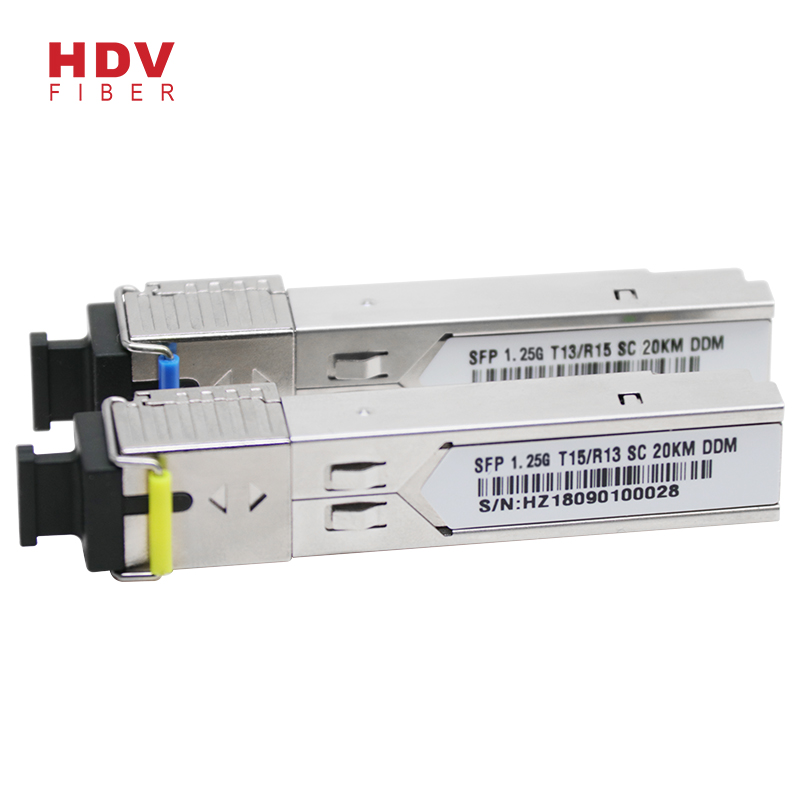 Well-designed Sfp Onu Gepon - 1.25G 20KM SC 1310/1550nm Single mode single fiber BIDI SFP  – HDV