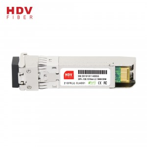 New Delivery for Sfp Optical Module Wdm - Huawei/cisco Compatible 10g Sfp+ lr 10km 10g Sfp+ Optical Module – HDV