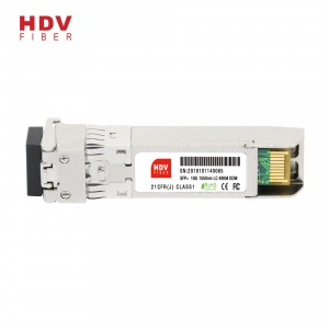 10G 1550nm 40KM LC connector dual fiber optic SFP+ module