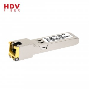 Super Purchasing for Sfp Converter - copper sfp module 1000base-t sfp rj45 100m optical transceiver compatible with cisco – HDV