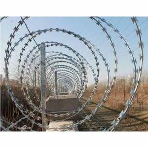 Super Purchasing for China 980mm Hot-Dipped Galvanized Spiral Concertina Razor Wire