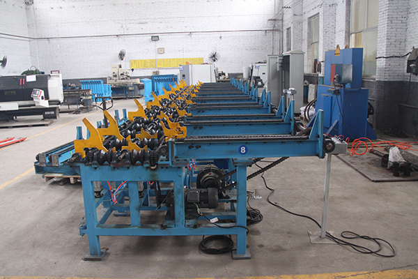 GL-12 Rebar Material Automatic Organizer& Feeder Machine Featured Image