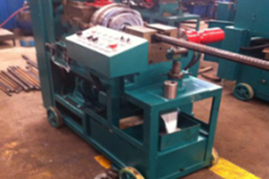 Gzl-45 Automatysk Rebar Thread Cutting Machine