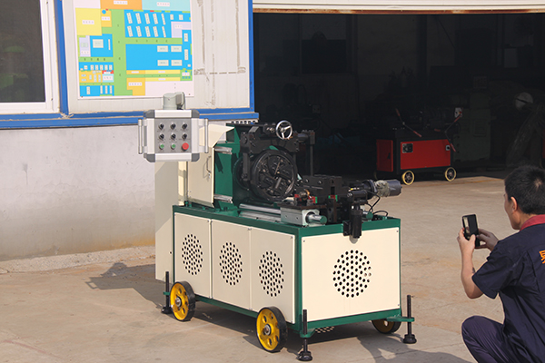 LW-I500 Automatic Rebar Threading Machine Featured Image