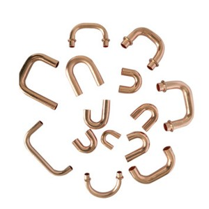 Discount Price Bending 10mm Copper Pipe - 180 degree U bend pipe copper return bends fittings – Wanhua