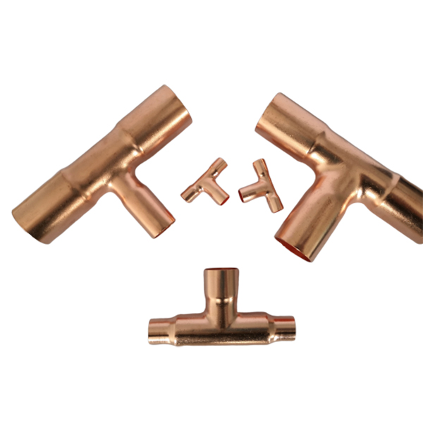 OEM/ODM Factory Copper Female Tee - T-shape-tripod-copper-pipe-fittings – Wanhua