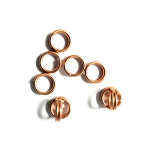 Factory Cheap Hot Carbon Steel Iron Copper Pipe Fitting - Air-conditioning-condenser-Copper-welding-ring – Wanhua