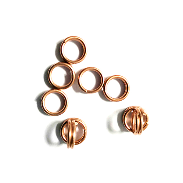 Manufacturer for Y Tee Copper Pipe Fitting - Air-conditioning-condenser-Copper-welding-ring – Wanhua