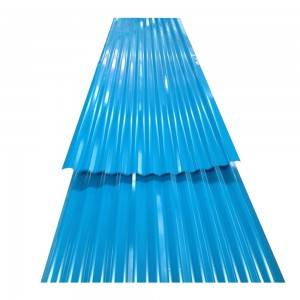 Ppgi Corrugated Roofing Steel Sheet