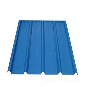 Corrugated Metal Roofing Sheet In Ral Color