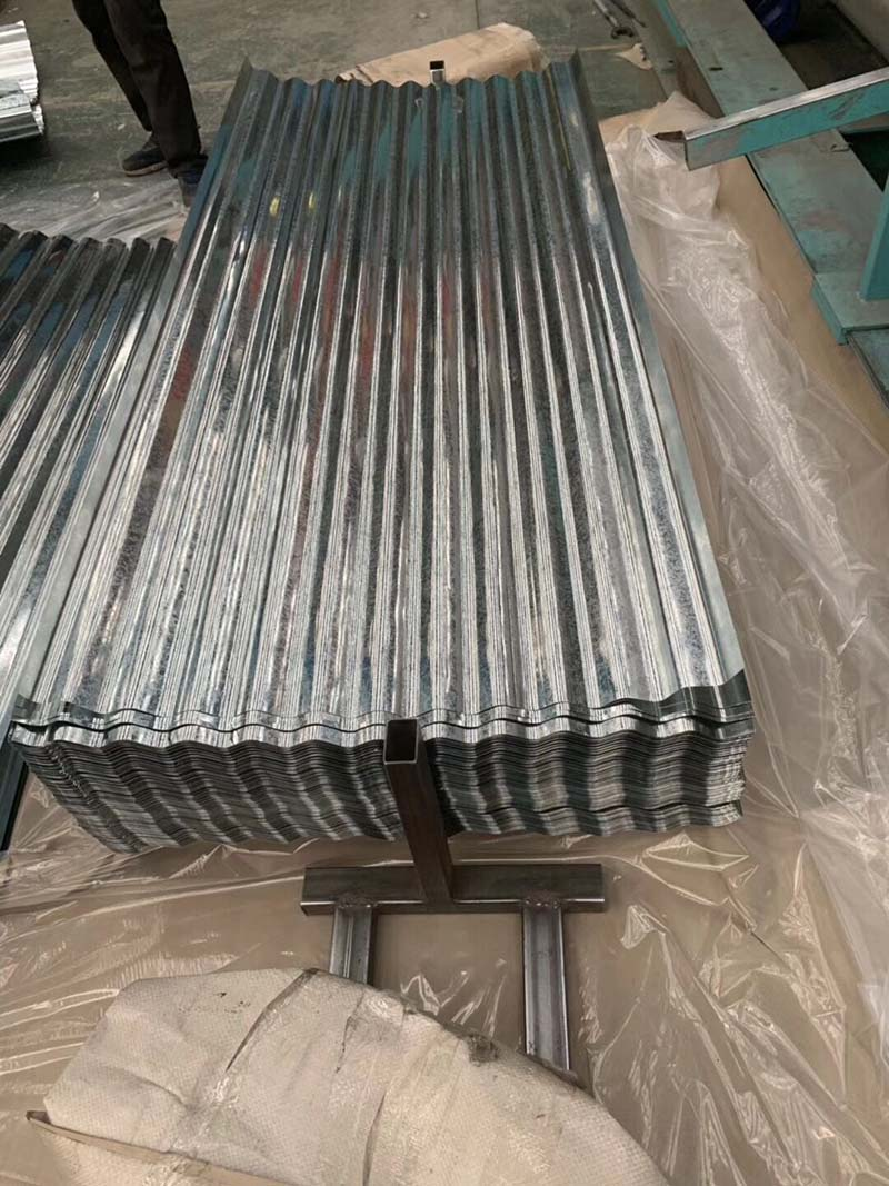 China Renewable Design For Galvalume Roofing Sheets Weight Galvanized Roofing Hengcheng Factory And Manufacturers Hengcheng