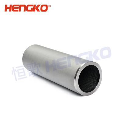 China manufacturer high pressure resistant 304 316 316L stainless steel wire mesh filter cartridge used for grease/oil filter