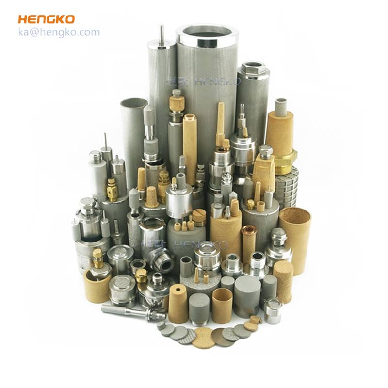 316L SS stainless steel metal sintered filters,Customized microporous nickel monel inconel titanium bronze brass , 0.2 0.5 microns 1 5 7 10 15 20 30 50 60 90 μm