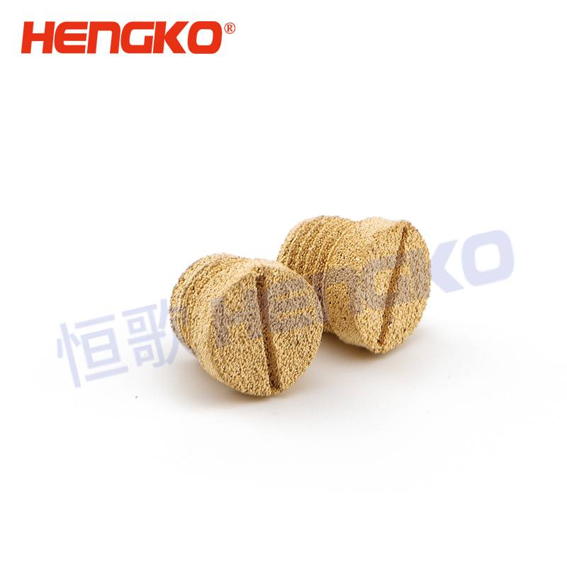 Manufacturing Companies for Metal Filter - Powder Sintered Brass Bronze SS Stainless Steel Micropore Muffler Assy – HENGKO