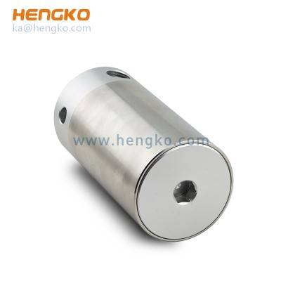 outdoor sintered stainless steel housing protection gas sensor module