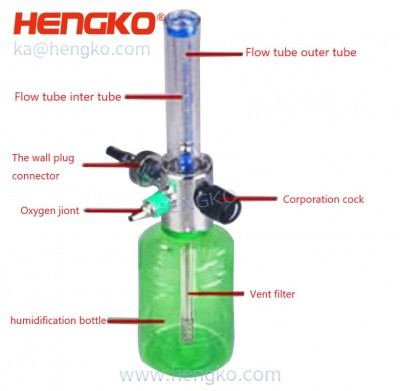 HENGKO medical oxygen feed filter element 316 316L stainless steel