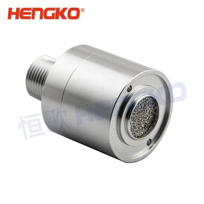 customized Isolation sparks catalytic bead combustible gas sensor housing for protection sensing element